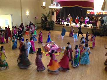 A Diwali festival at the San Jose Woman's Club