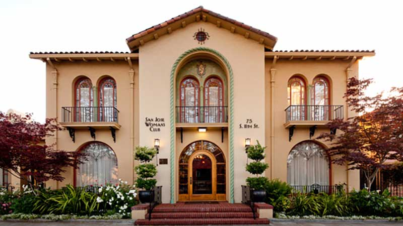 The Historic Venue of the San Jose Woman's Club